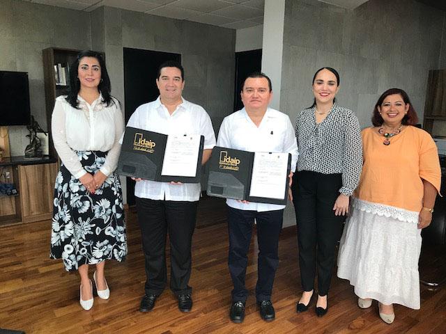EN MATERIA DE TRANSPARENCIA, FIRMAN CONVENIO IDAIPQROO Y TRIBUNAL SUPERIOR DE JUSTICIA