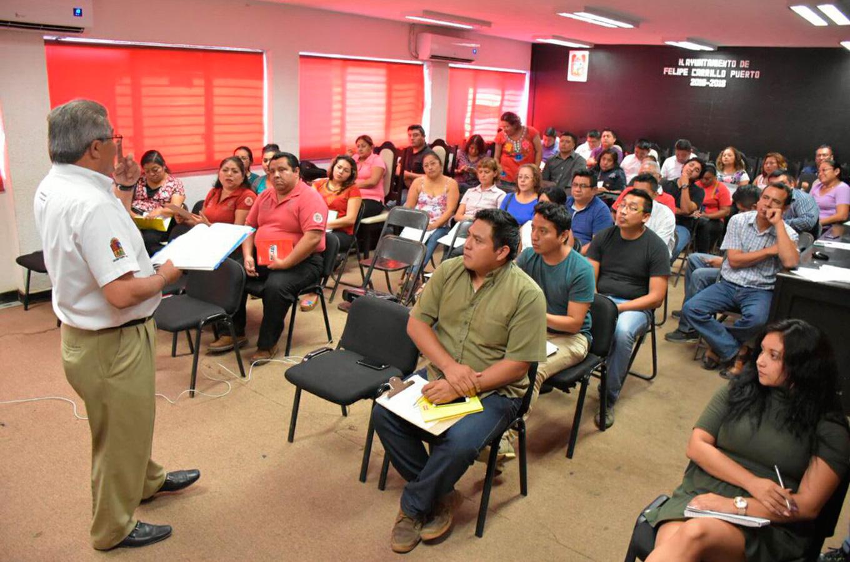 IDAIPQROO CAPACITÓ EN NOVIEMBRE A 296 SERVIDORES PÚBLICOS EN MATERIA DE TRANSPARENCIA