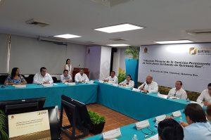 PARTICIPACIÓN DE IDAIPQROO EN PRIMERA ASAMBLEA PLENARIA DE CONTRALORES DEL ESTADO