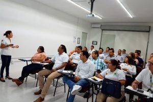 IDAIPQROO CAPACITA SOBRE PROTECCIÓN DE DATOS PERSONALES A SERVIDORES PÚBLICOS DE LA SECRETARIA DE SEGURIDAD PÚBLICA