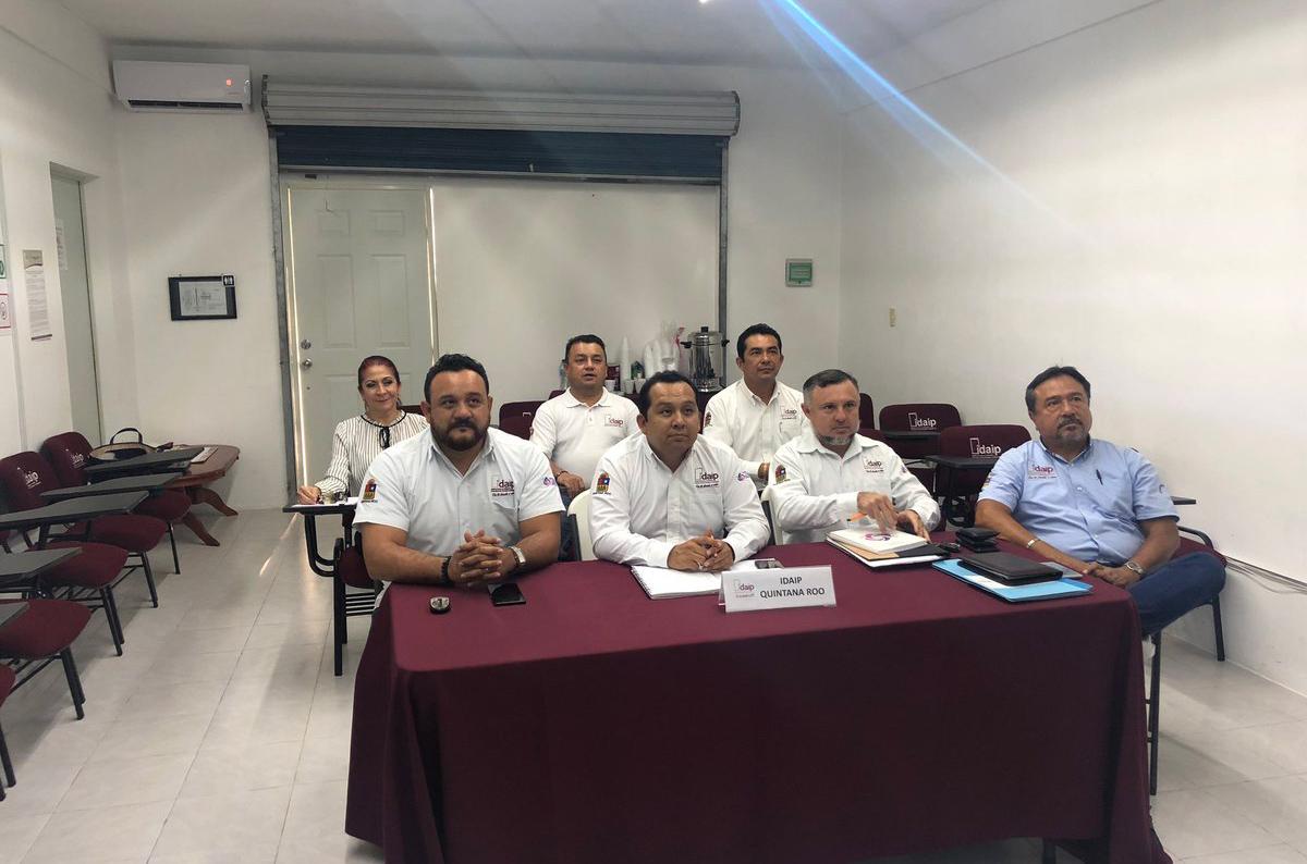 IDAIPQROO SE CAPACITA CON DIPLOMADO SOBRE ARGUMENTACIÓN JURÍDICA Y CLASIFICACIÓN DE INFORMACIÓN