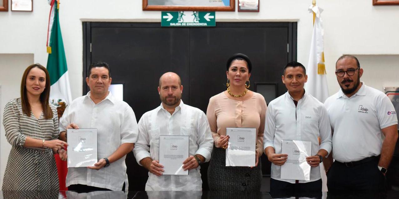 ENTREGA IDAIPQROO ANTEPROYECTO DE PRESUPUESTO 2020 A LA XVI LEGISLATURA DEL H. CONGRESO DEL ESTADO DE QUINTANA ROO
