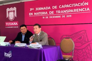 IDAIPQROO COMPARTE CONOCIMIENTOS Y EXPERIENCIA A SERVIDORES PÚBLICOS DEL INSTITUTO DE TRANSPARENCIA DE BAJA CALIFORNIA