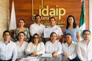 IDAIPQROO RECIBE INFORME ANUAL DE SOLICITUDES DE INFORMACIÓN 2019 DEL PODER LEGISLATIVO