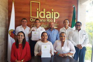 IDAIPQROO RECIBE INFORME ANUAL DE SOLICITUDES DE INFORMACIÓN Y DE REPORTE DE SOLICITUDES ARCO 2019 DE PARTIDO VERDE