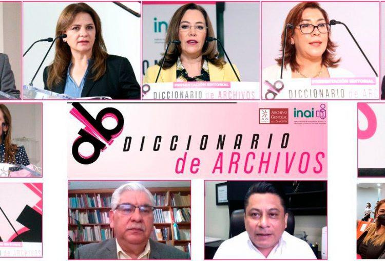 INAI PONE A DISPOSICIÓN DE LA SOCIEDAD EL DICCIONARIO DE ARCHIVOS CON CONCEPTOS PARA ENTENDER LA LABOR ARCHIVÍSTICA