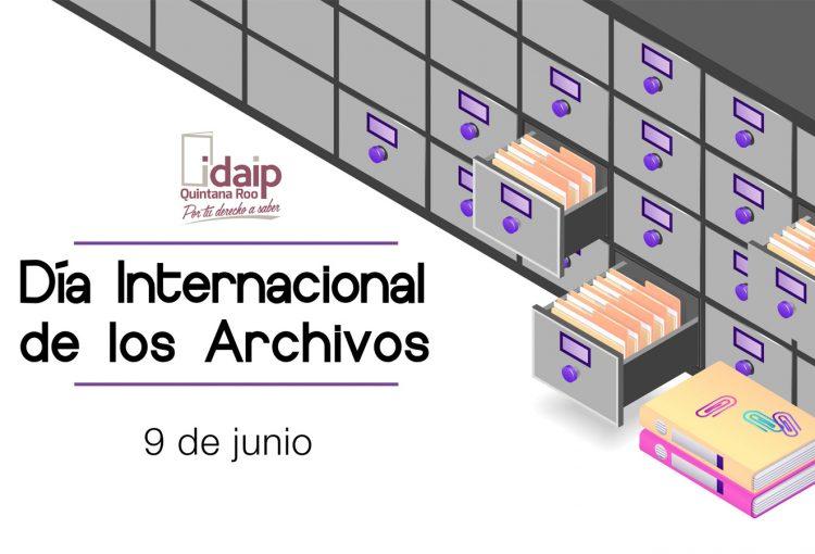 """IDAIPQROO CONMEMORA EL """"DÍA INTERNACIONAL DE LOS ARCHIVOS"""""""